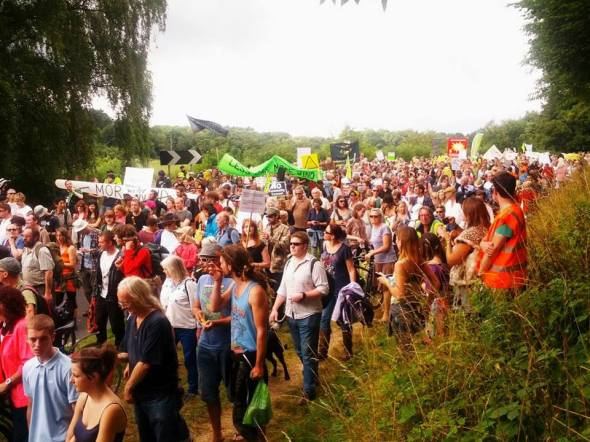 Balcombe March - Aug 2013